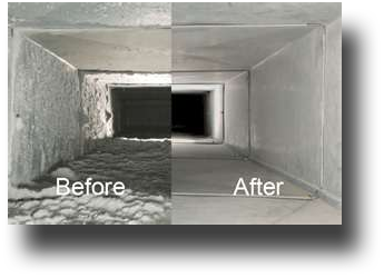 Ducts cleaning