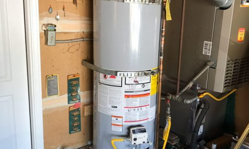 A.O. Smith GDVT-50L PROMAX NATURAL GAS water heater replacement in Jackson Township, NJ.